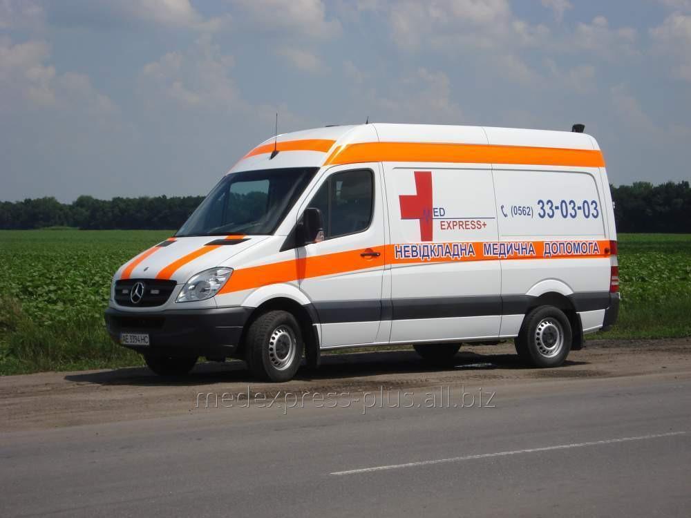 Заказать Перевозка больного с переломом позвоночника из Геническа в Днепр