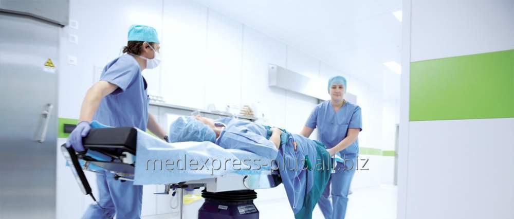 Заказать Перевозка лежачего больного из Феодосии в Москву