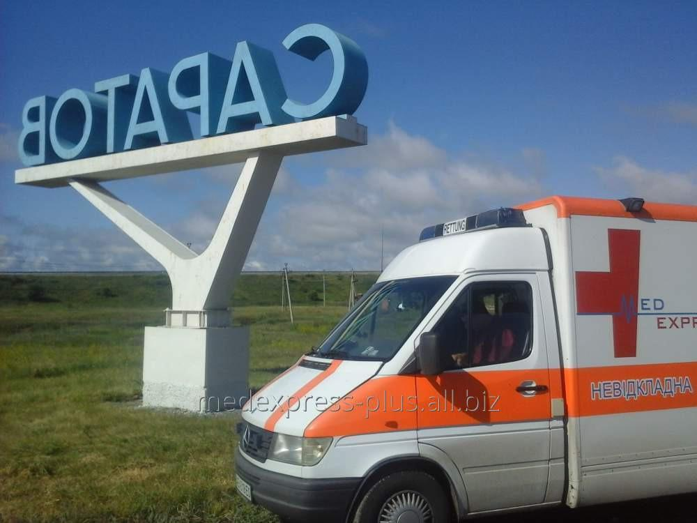 Заказать Перевозка больного с травмой спины из Крыма в Харьков