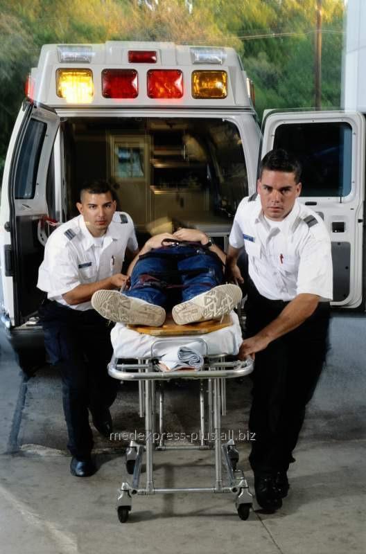 Заказать Перевозка больного с травмой спины из Полтавы в Днепропетровск