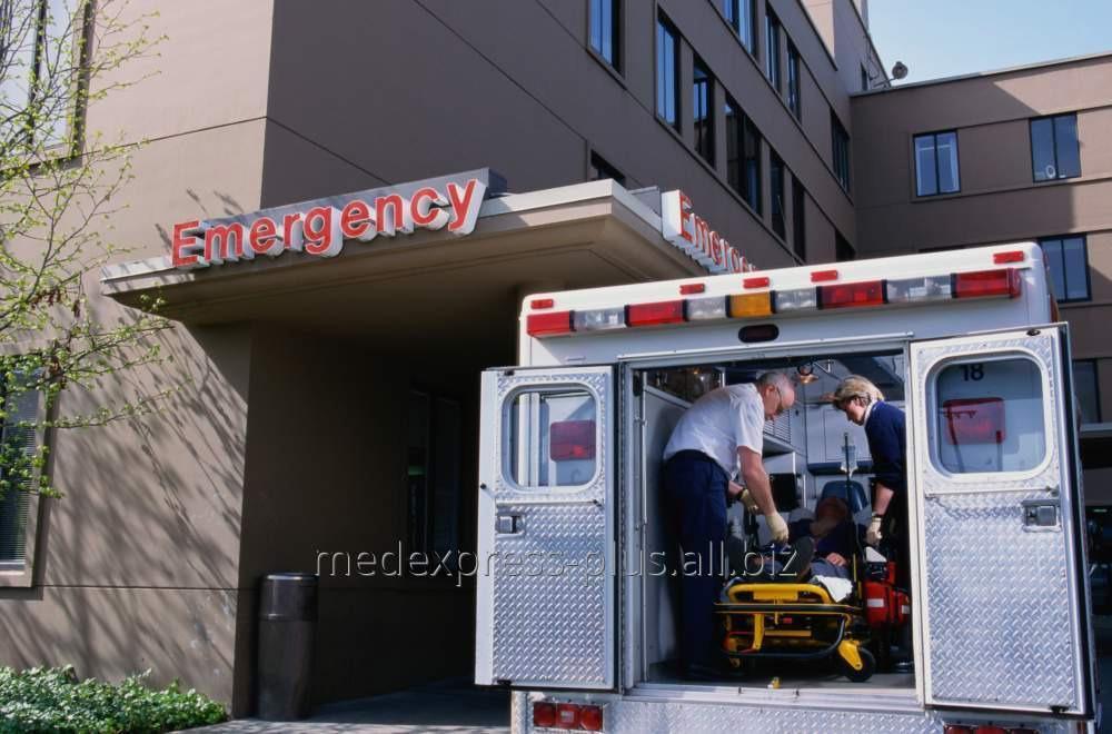 Заказать Перевозка больного с переломами таза