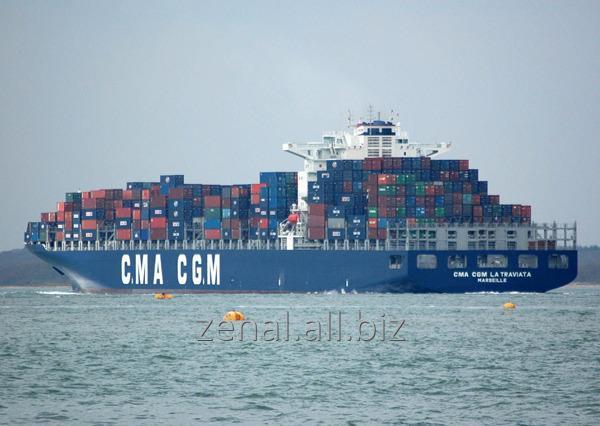 Заказать Морские контейнерные перевозки в Черноморском бассейне из Италии