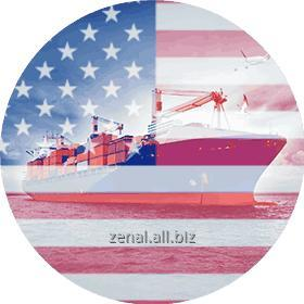 Заказать Морские контейнерные перевозки в Черноморском бассейне из США