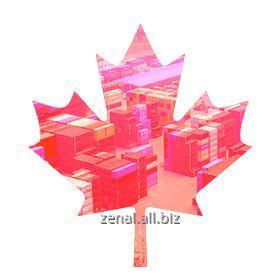 Заказать Контейнерные перевозки из Канады