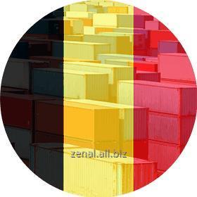 Заказать Контейнерные перевозки Бельгия