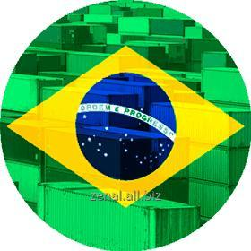 Заказать Контейнерные перевозки из Бразилии