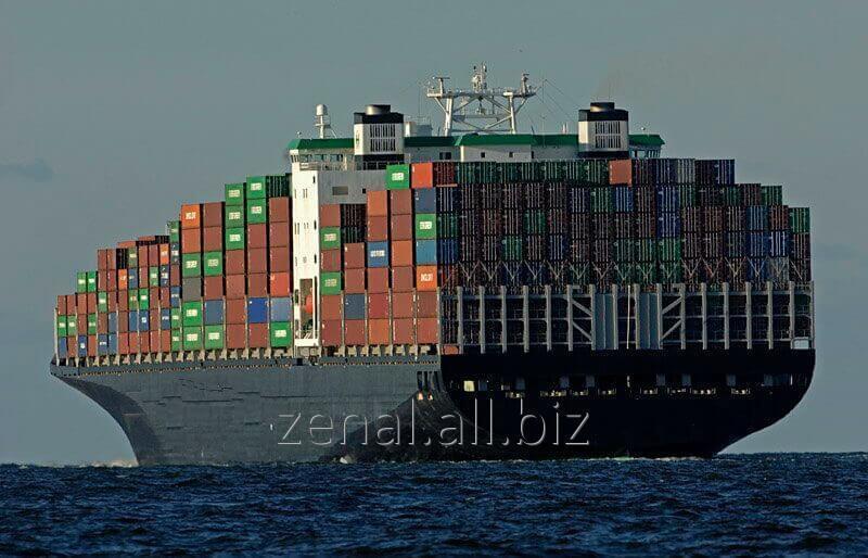 Заказать Погрузка, экспедирование и таможенное оформление контейнеров