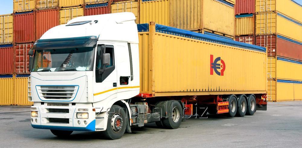 Заказать Автоперевозки контейнеров