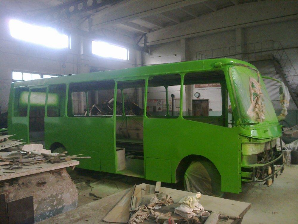 Заказать Ремонт автобусов БОГДАН в черкассах
