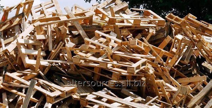 Заказать Поддон деревянный бу, бой, лом
