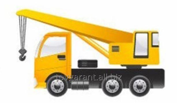 Заказать Аренда - Автокраны грузоподъёмностью 10т, 16т, 20т, с длинной стрелы до 38м