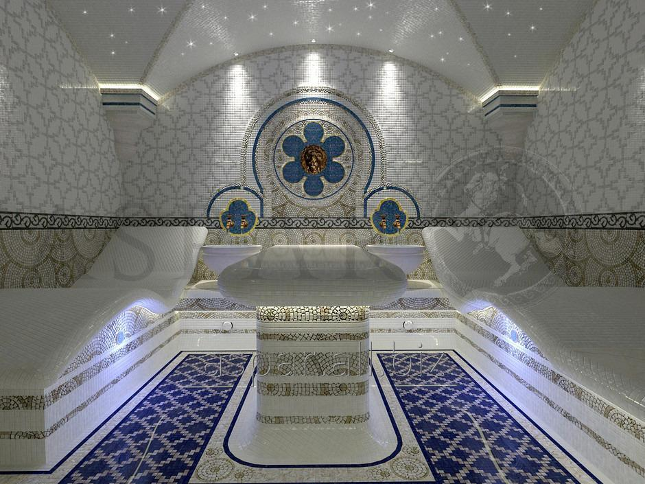 Заказать Турецкая баня (Хаммам). Строительство турецких бань (хаммама)