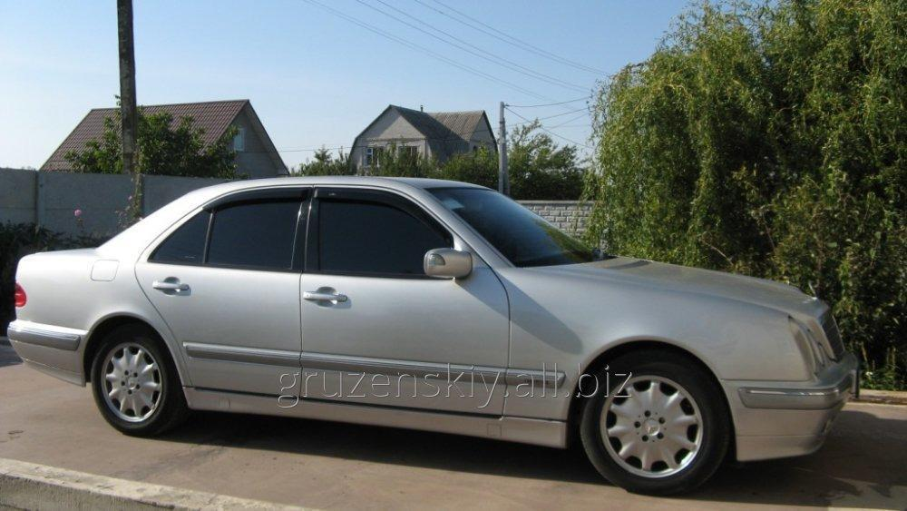 Rent a car business class with an English speaking driver in Kiev