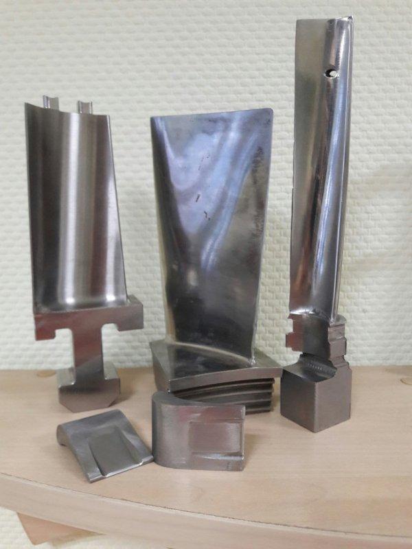 Заказать Изготовление лопаток турбины