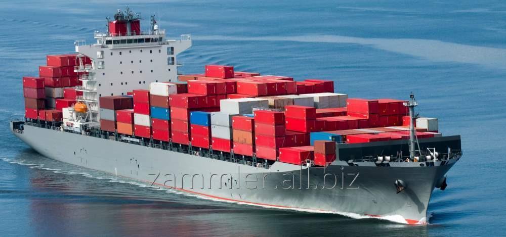 Заказать Морские контейнерные перевозки