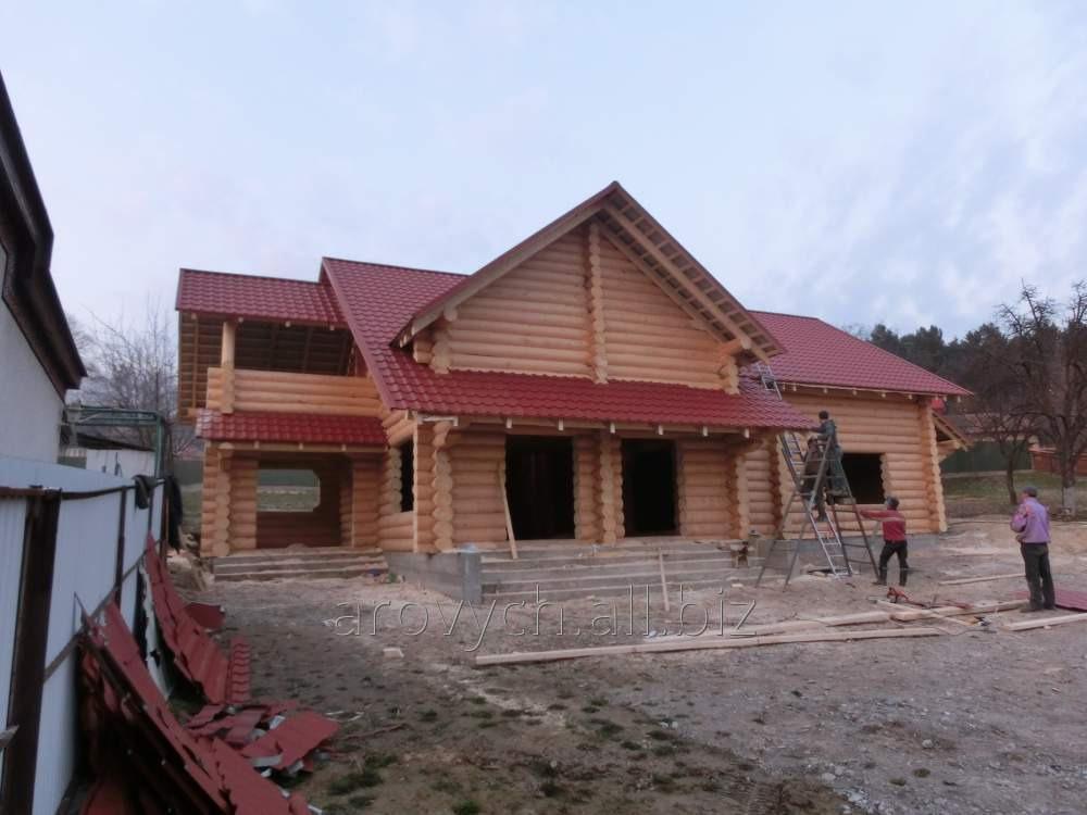 Заказать Строительство из деревянных срубов