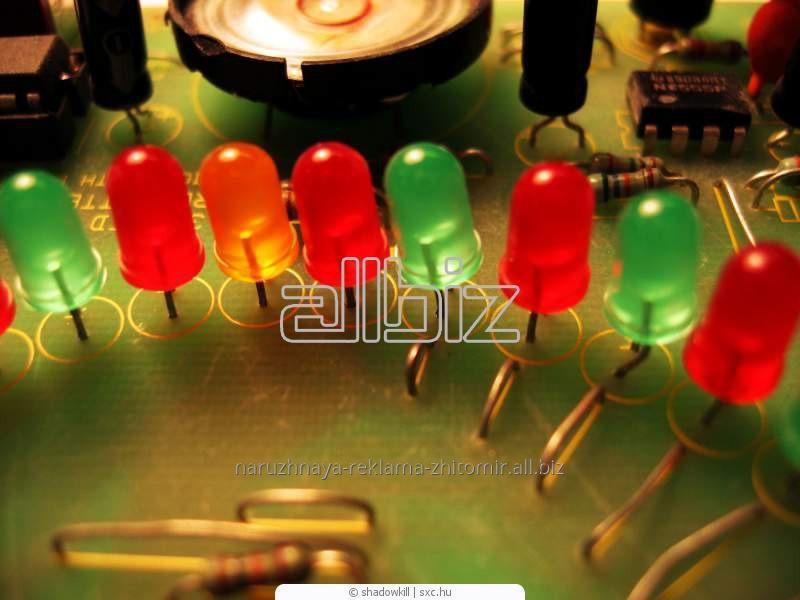 Заказать Изготовление, монтаж и обслуживание светодиодных систем Житомир