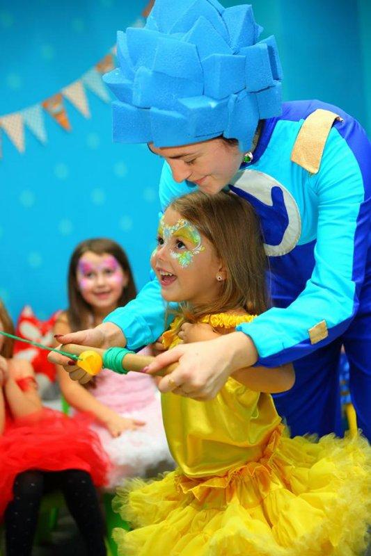 Заказать Аніматори, клоун, пірат, фея, принцеса, фіксіки. організація дитячого свята