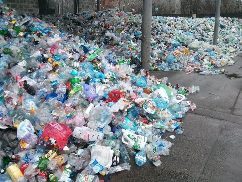 Сбор отходов ПЭТ, утилизация