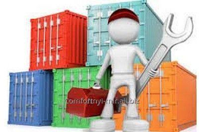 Заказать Ремонт морских контейнеров