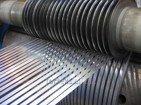 Заказать Продольная резка рулонной стали