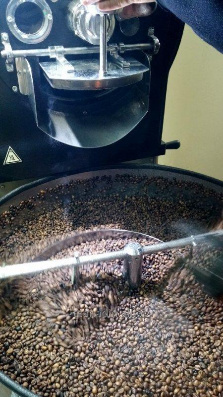 Roasting of coffee