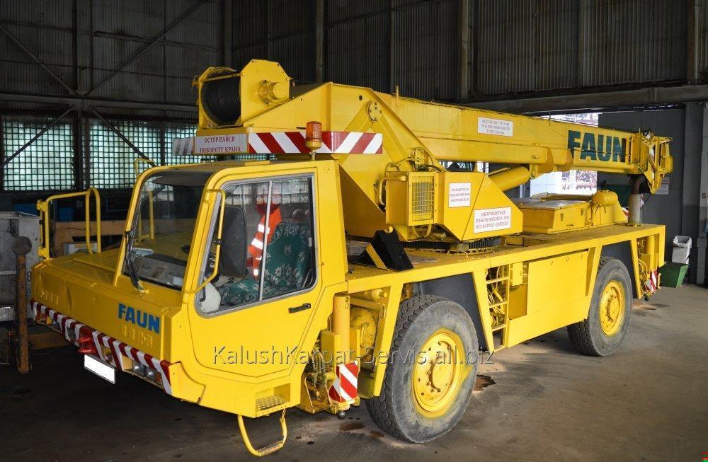 Заказать Предоставление услуг автокраном FAUN Q-30 тонн