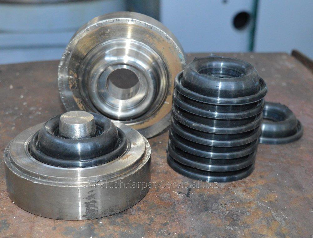 Заказать Изготовление резинотехнических изделий (кольца, манжеты)