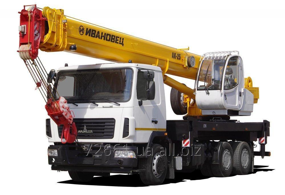 Заказать Аренда автокрана, грузоподъемность от 10 до 100 тонн