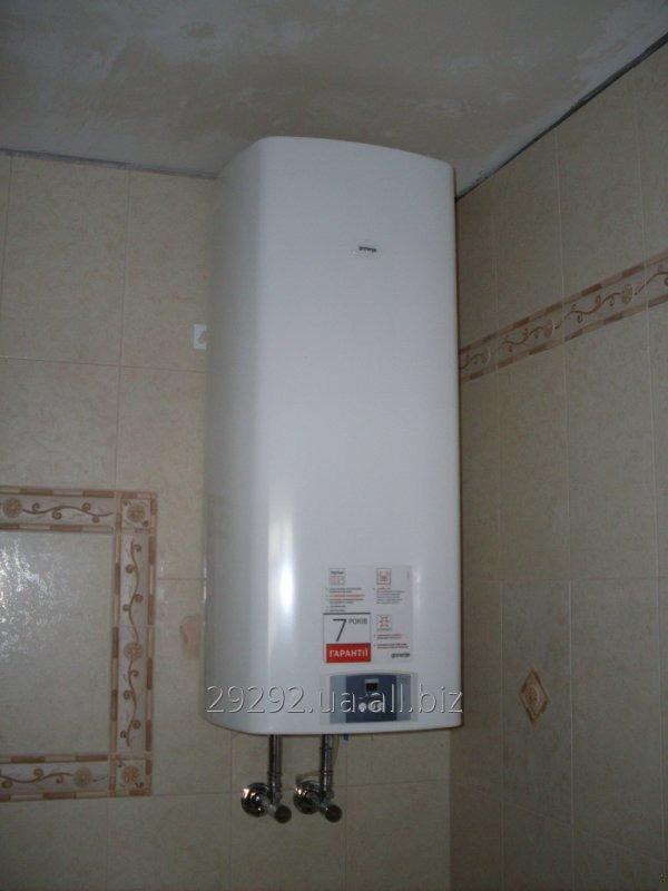 Заказать Установка электрического водонагревателя