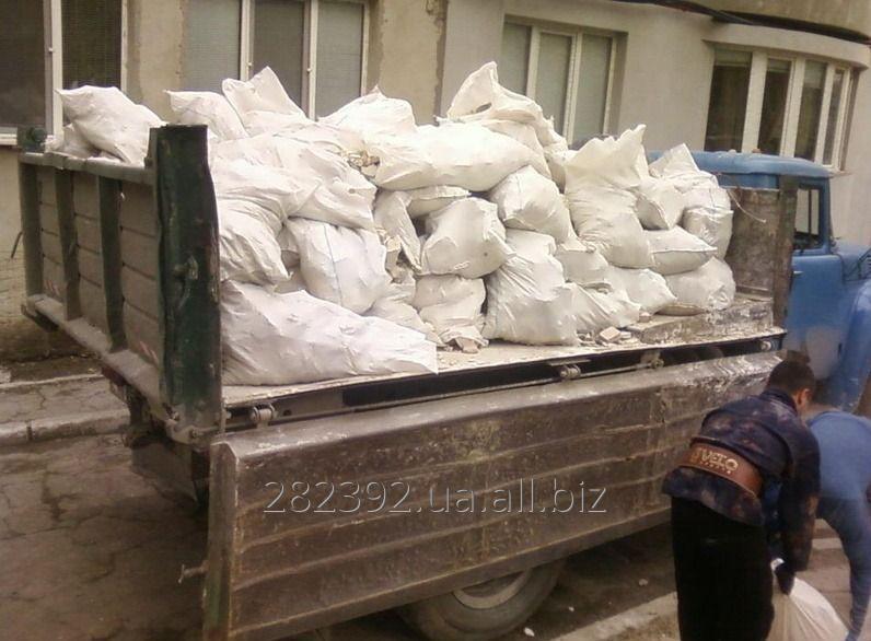 Заказать Вывоз строительных отходов в мешках