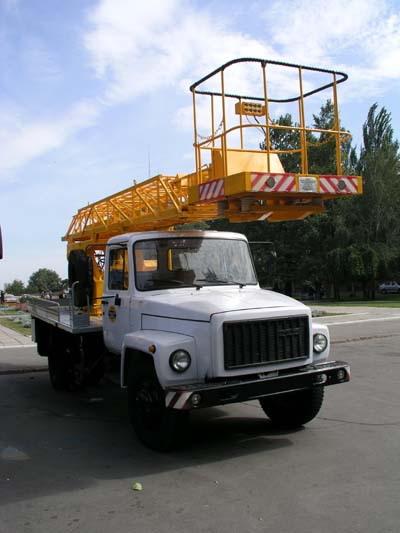 Заказать  Автовышка Телескопический подъемник АП-17 Харьков, Украина