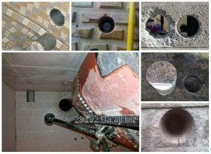 Алмазное сверление кирпича, бетона, камня