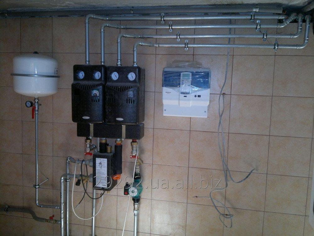 Заказать Установка автоматики для систем отопления