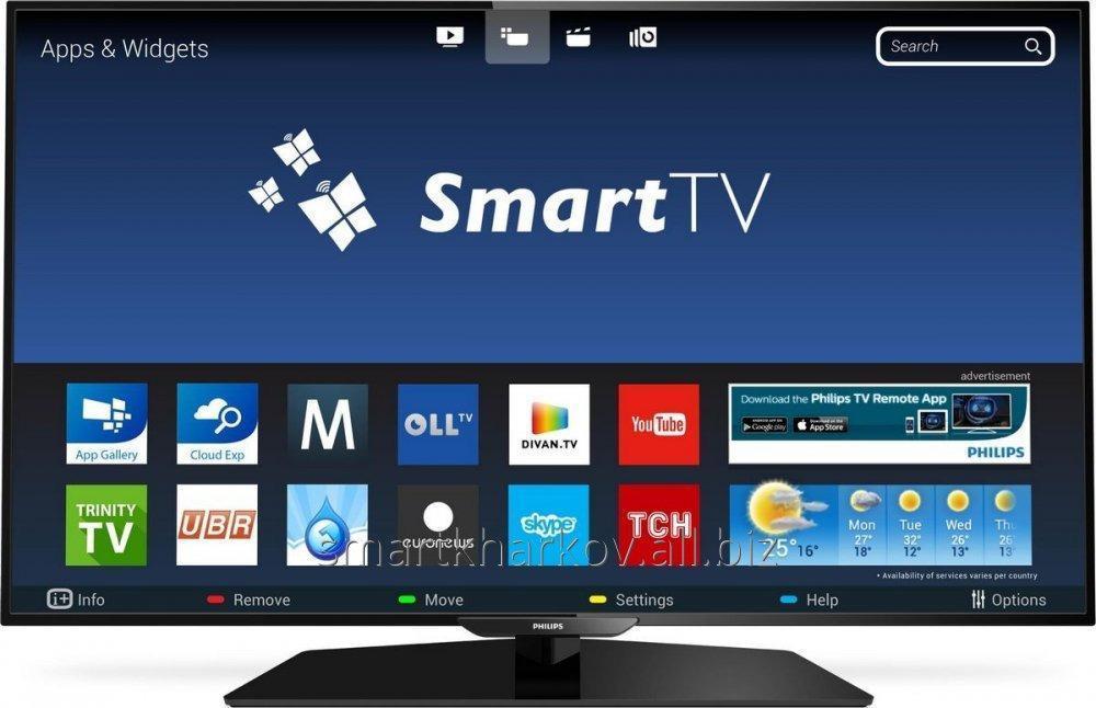 Заказать Настройка Smart TV Смарт ТВ Philips Харьков