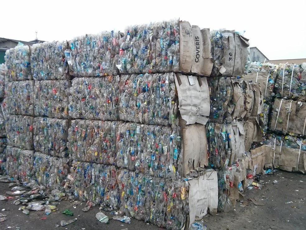 Заказать Сбор и переработка использованных ПЭТ бутылок в чистые хлопья