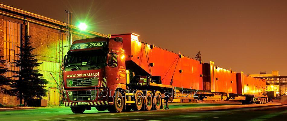 Заказать Доставка негабаритных тяжеловесных грузов в Грузию, Казахстан, Киргизию, Армению, Таджикистан