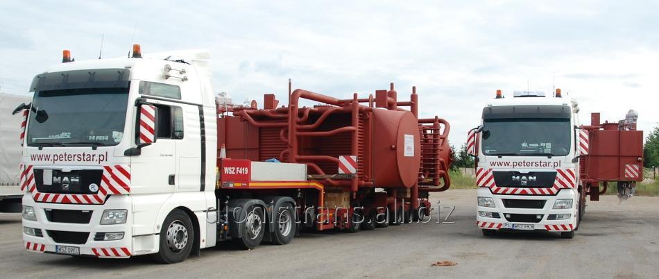 Заказать Доставка негабаритных тяжеловесных грузов из Австрии, Польши, Франции, Германии в Украину