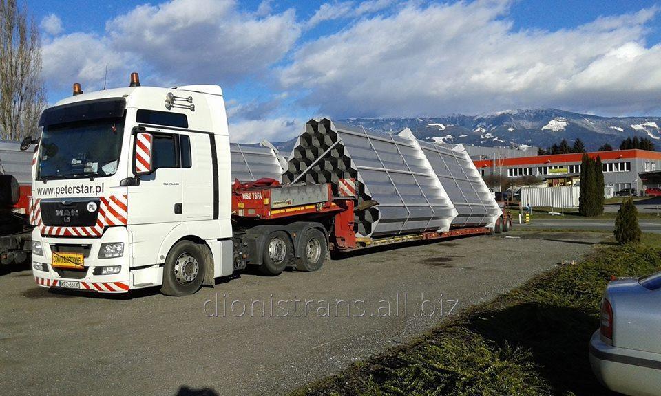 Заказать Доставка негабаритных тяжеловесных грузов из Дании, Норвегии, Финляндии, Швеции,- и других стран!
