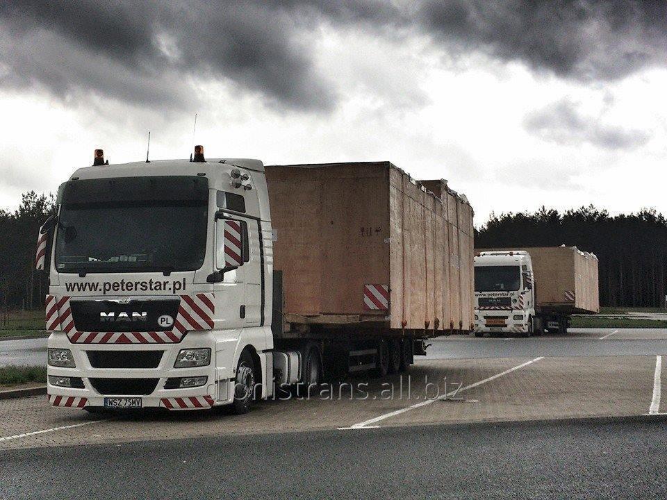 Заказать Доставка негабаритных тяжеловесных грузов из Англии, Бельгии, Италии, Франции в Украину