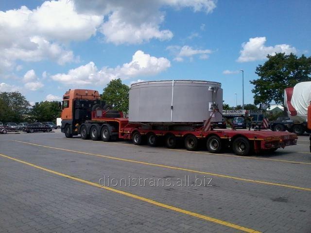 Заказать Доставка негабаритных тяжеловесных грузов из Европы: Италия, Германия, Бельгия, Австрия, Польша, Швеция