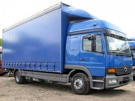 Order Cargo transportation of construction materials