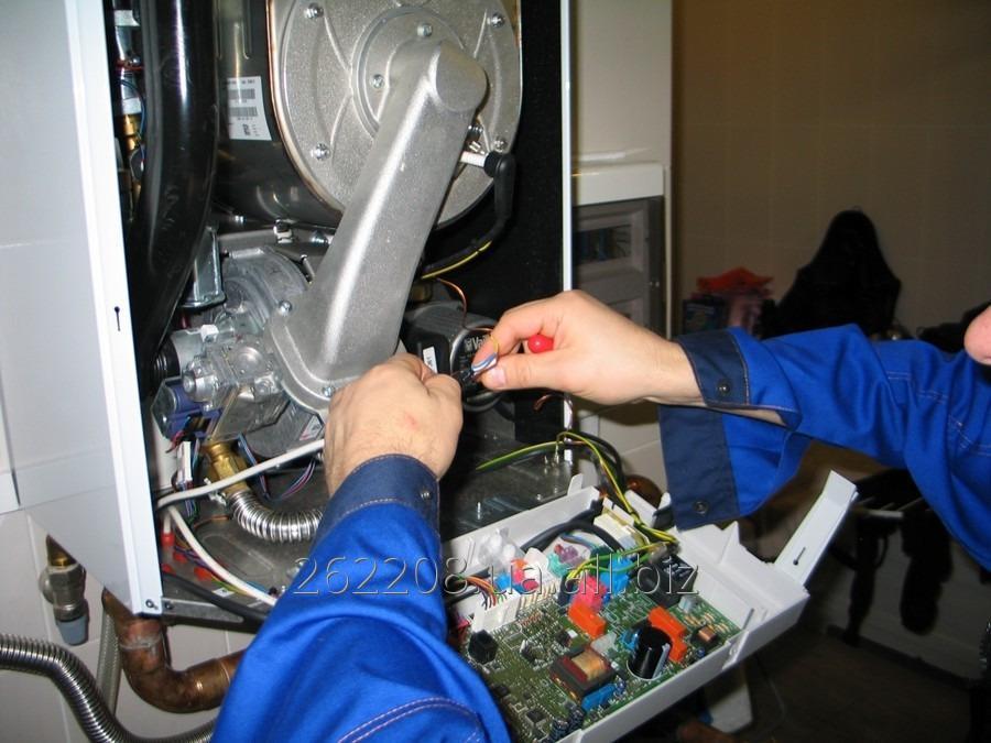 Заказать Сервисное обслуживание бытовых водонагревательных и отопительных приборов