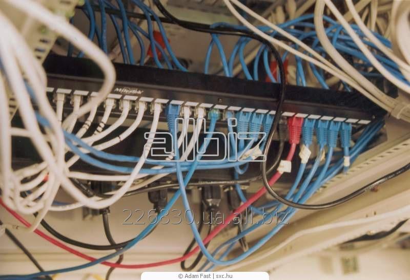 Заказать Монтаж и наладка компьютерных сетей