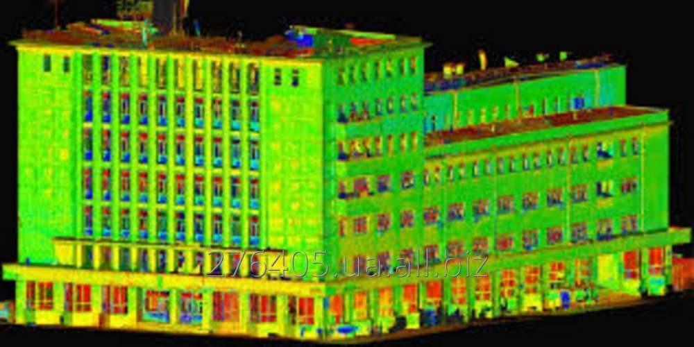 Заказать 3D лазерное сканирование фасадов