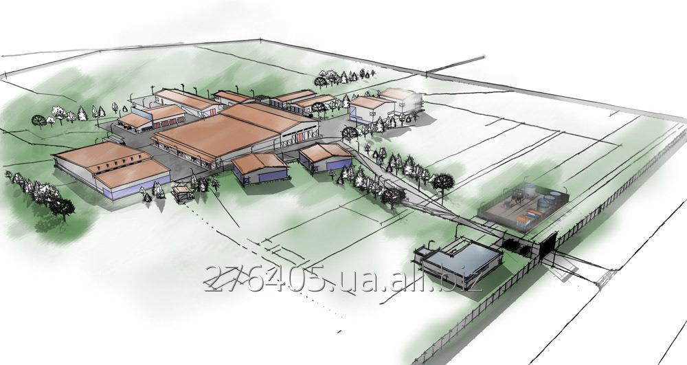 Заказать Создание генеральных планов территорий промышленной застройки