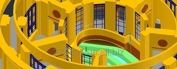 Заказать Построение 3D моделей зданий и сооружений по результатам обмеров