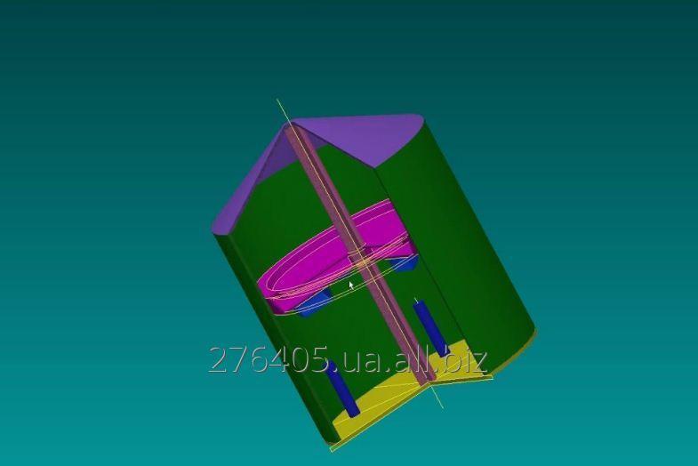 Заказать Построение 3D моделей резервуаров
