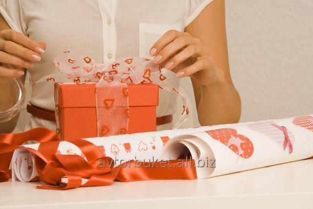 Заказать Услуга по Упаковке подарков