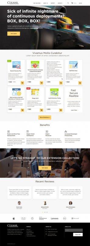 Заказать Создание корпоративных сайтов